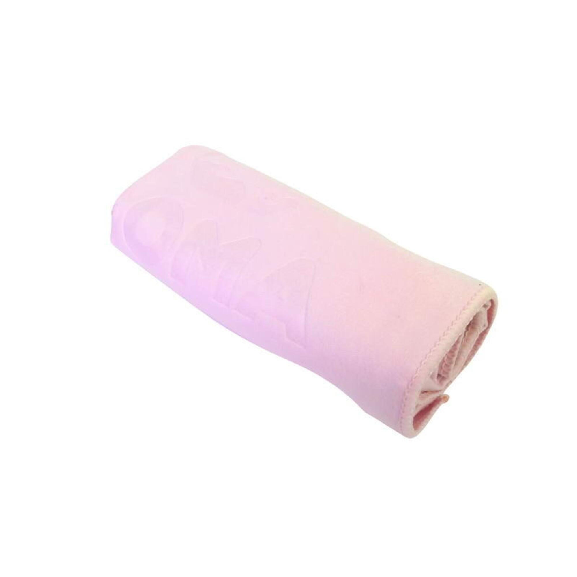 微纖吸水毛巾, 粉紅色