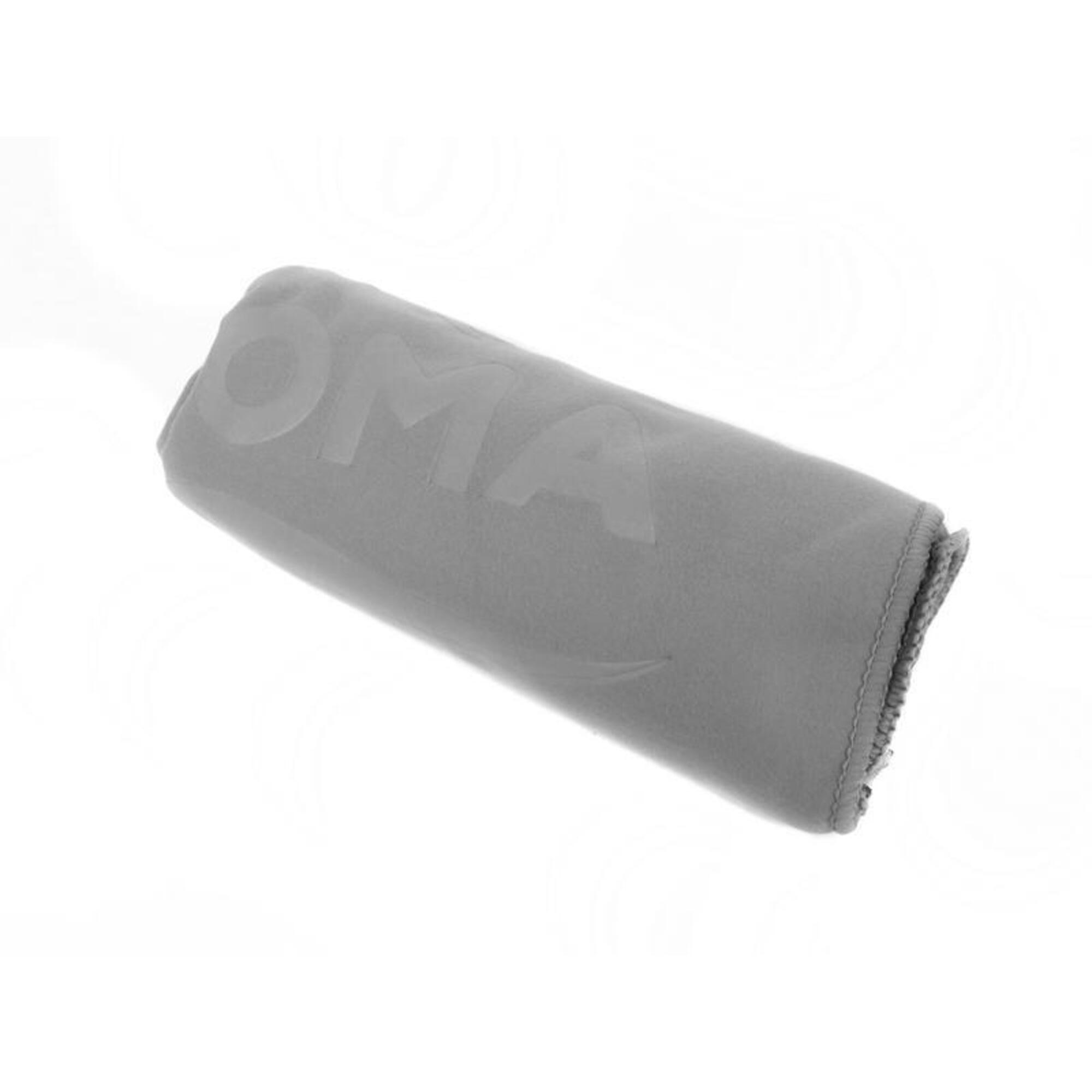 微纖吸水毛巾, 灰色