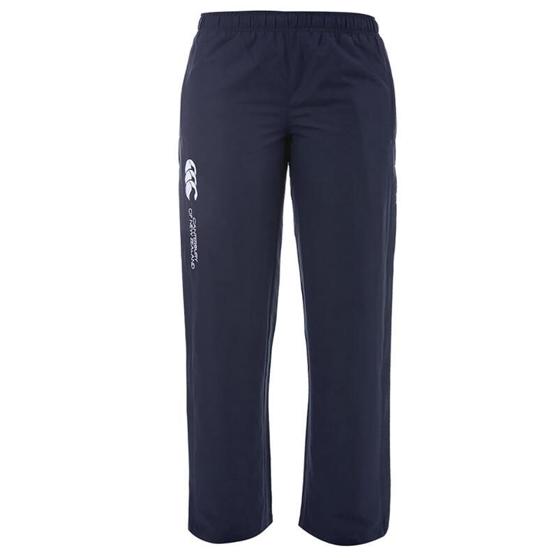 Womens/Ladies Stadium Elasticated Sports Trousers (Navy)