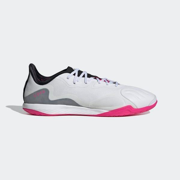 Adidas Copa Sense.1 IN 足球鞋 - 白色
