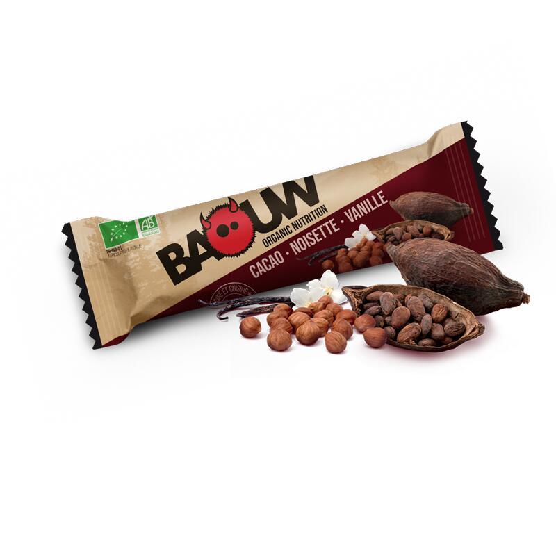Barres nutritionnelles Cacao-Noisette-Vanille Etui x3