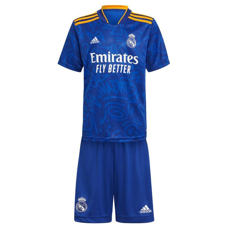 Mini-kit enfant exterieur Real Madrid 2021/22