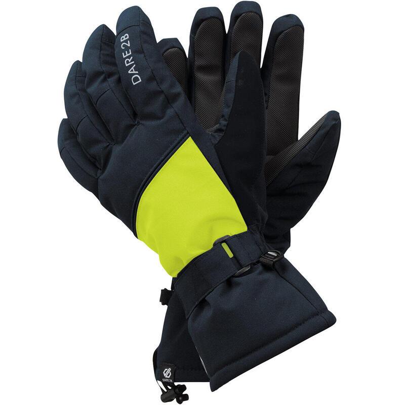 Diversity Ski Gloves (Blue/Yellow)
