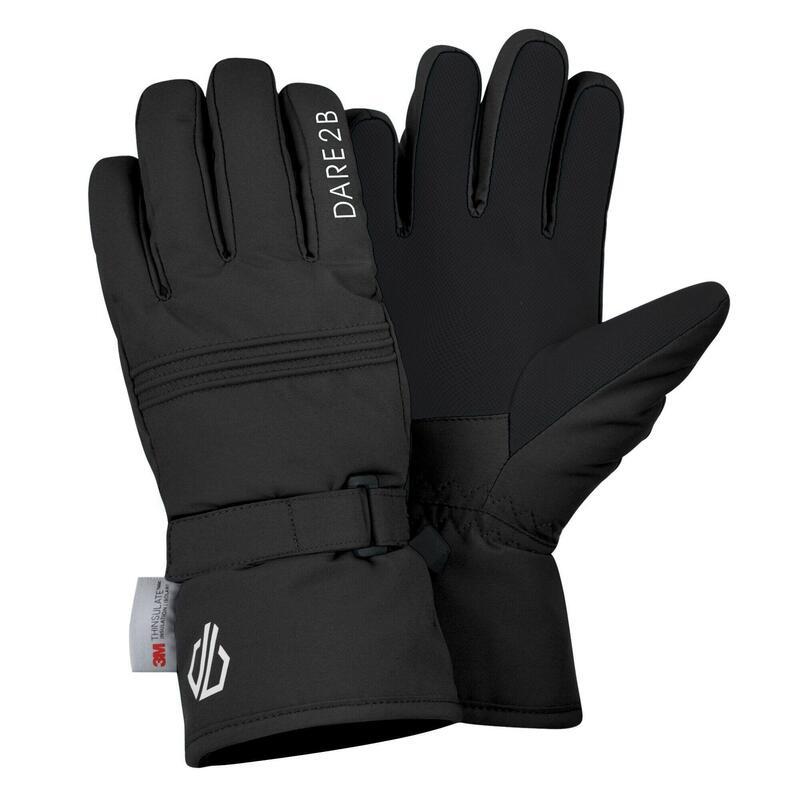 Girls Liveliness Ski Gloves (Black)