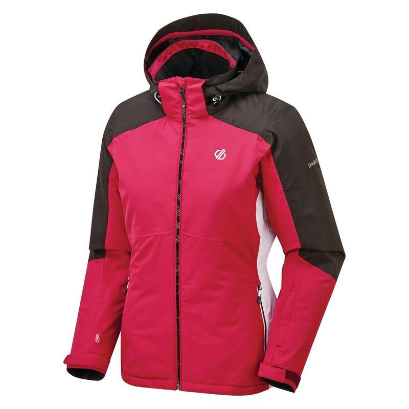 Womens/Ladies Radiate Ski Jacket (Active Pink/Black/White)