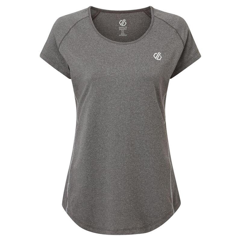 Dare 2B Womens/Ladies Corral TShirt (Ebony Grey)