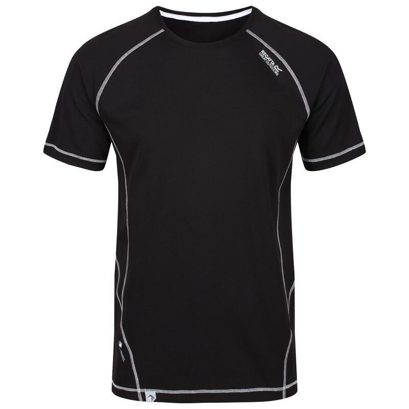 Mens Virda II Lightweight TShirt (Black)