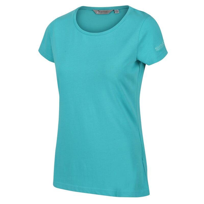Womens/Ladies Carlie TShirt (Turquoise)