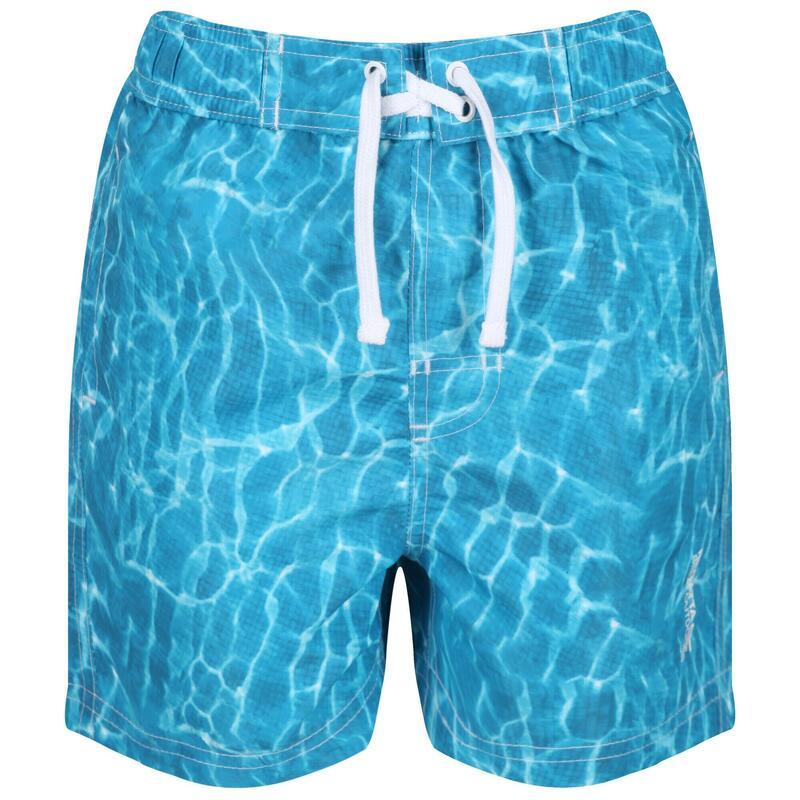 Kids Skander II Quick Drying Swim Shorts (Water Photographic Print)