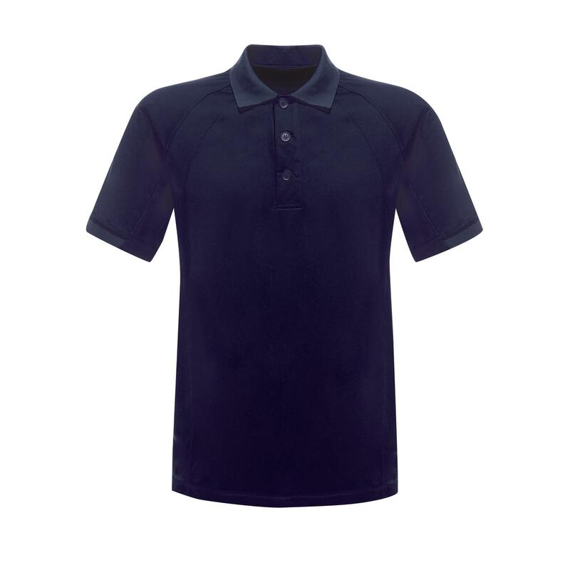 Professional Mens Coolweave Short Sleeve Polo Shirt (Navy)