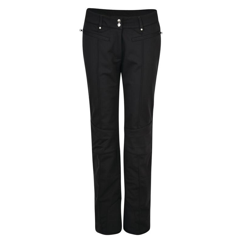 Womens/Ladies Clarity Luxe Ski Pants (Black)
