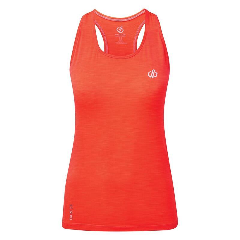 Womens/Ladies Modernize II Vest (Fiery Coral)
