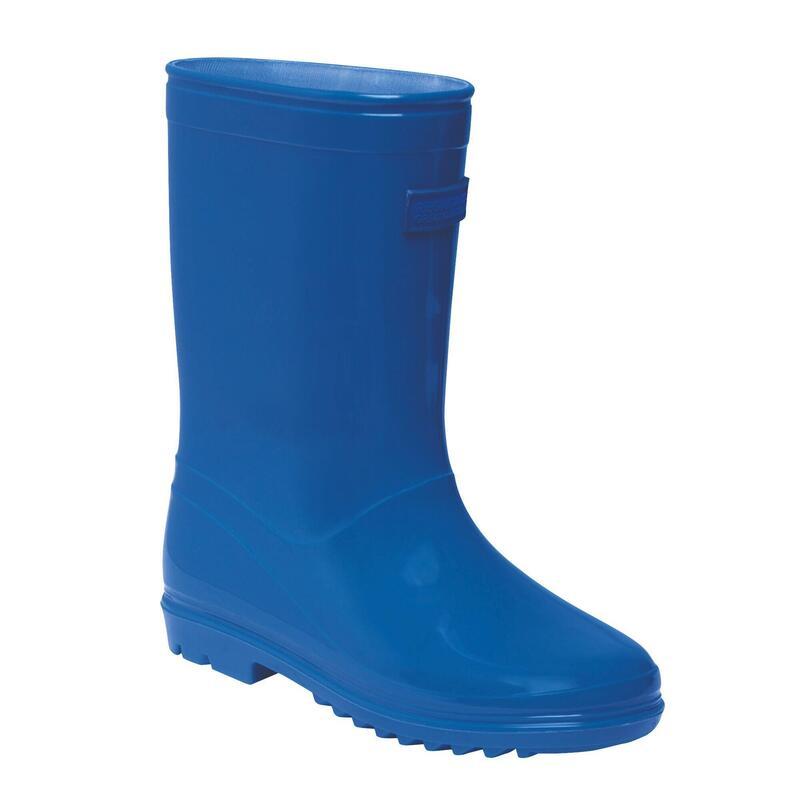 Childrens/Kids Wenlock Wellington Boots (Nautical Blue)
