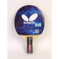 Butterfly 3 Series Table Tennis Racket, Short Handle, In two-sides