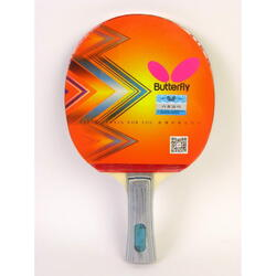 Butterfly 2 Series Table Tennis Racket, Long Handle, In two-sides