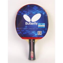 Butterfly 3 Series Table Tennis Racket, Long Handle, In two-sides
