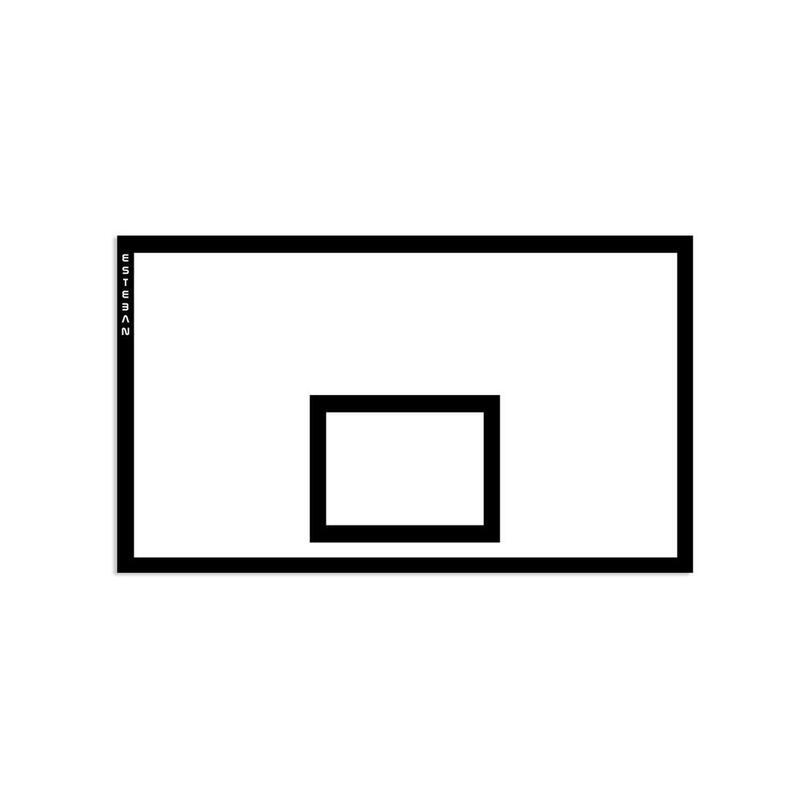 Tablero baloncesto reglamentario 180x105 cm