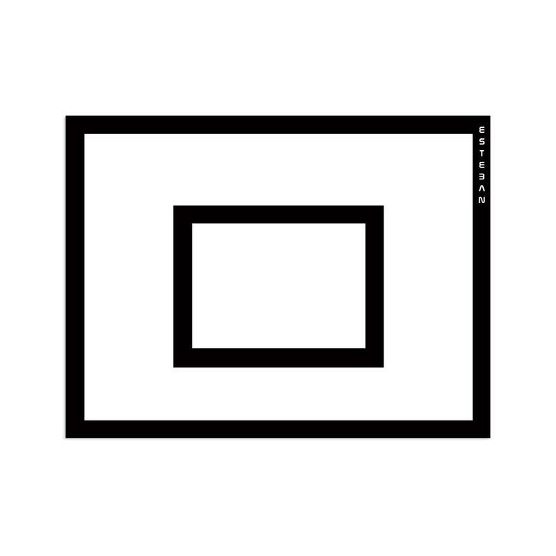 Tablero minibasket reglamentario 120x90 cm