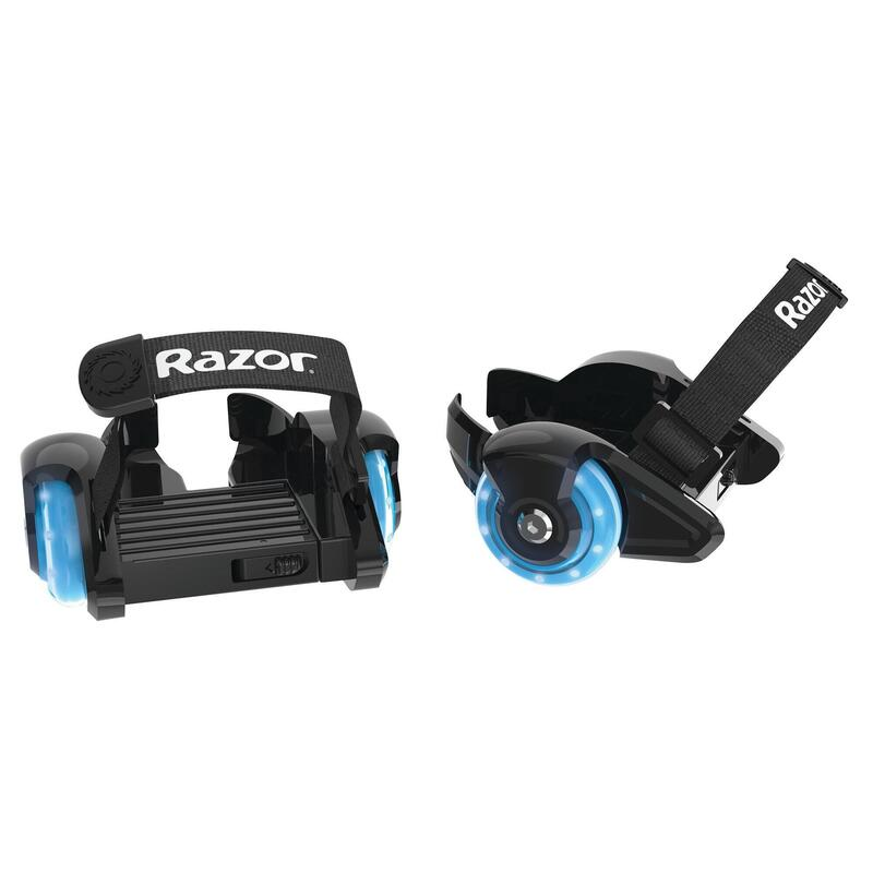 Razor Jetts Mini Heel Wheels Blue with light up wheels Suits Ages 6 years plus