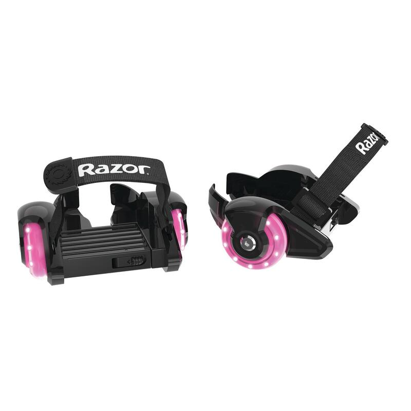 Razor Jetts Mini Heel Wheels Pink with light up wheels Suits Ages 6 years plus