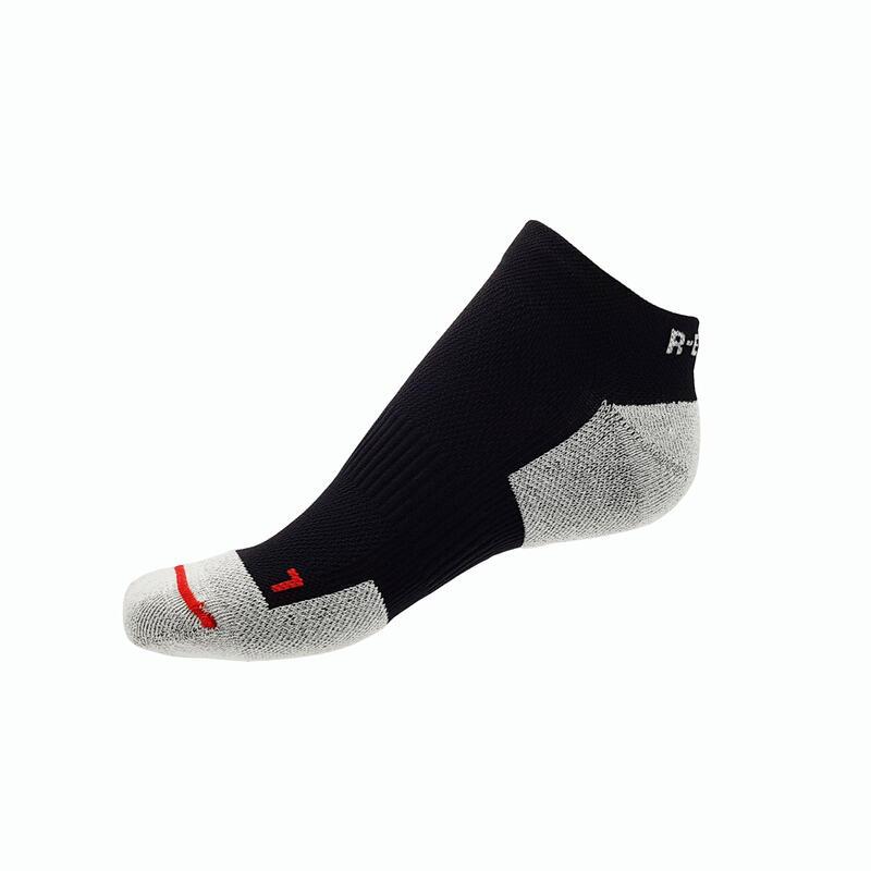 Calcetines técnicos de running para hombre y mujer short de atletismo negro