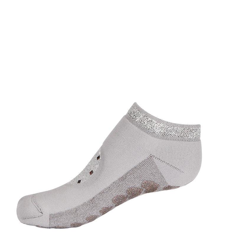 Chaussettes française  Babette adulte danseur antidérapantes gris adulte