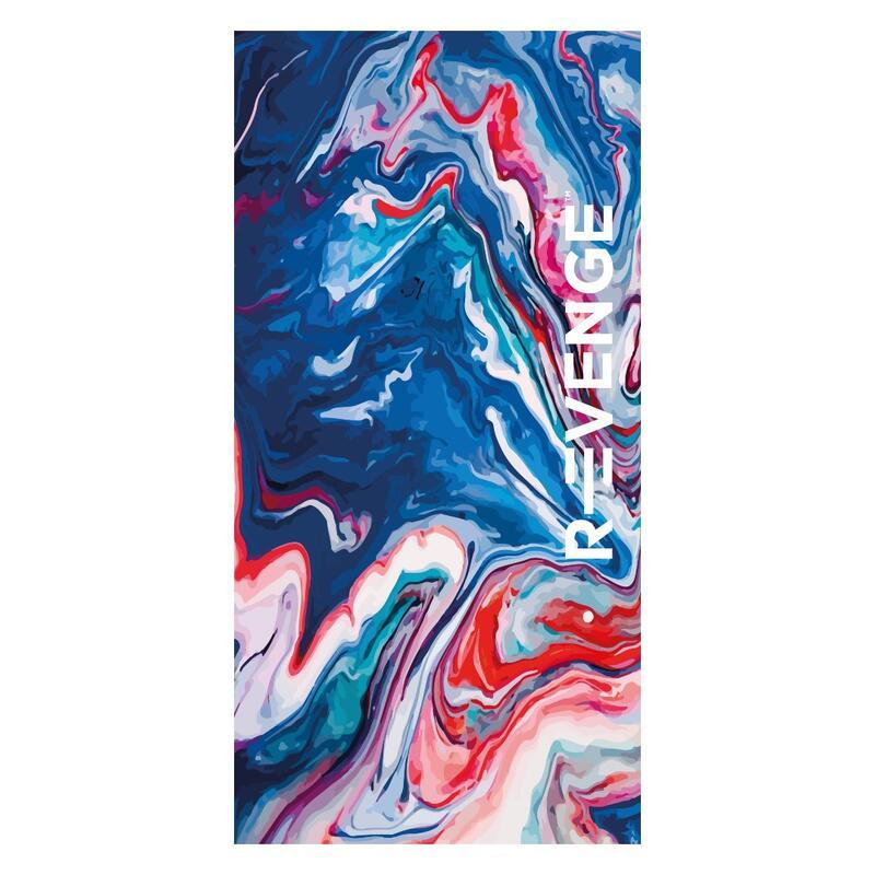 Asciugamano in microfibra Fitness 80X160 cm Paint