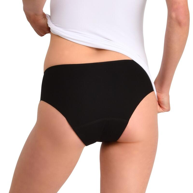 Lot de 2 culottes menstruelles Invisibles