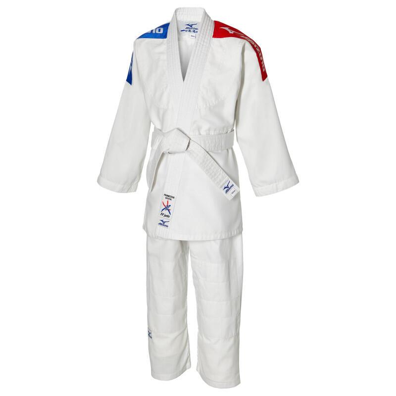 Kimono  de judo SHIRO Plus FFJ