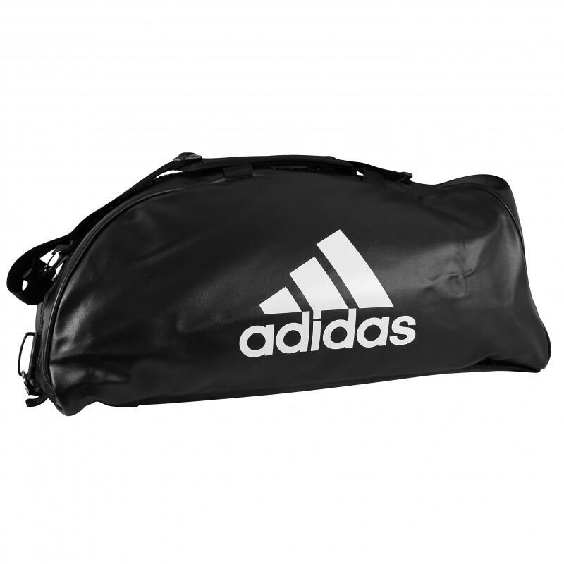 Sac de sport Adidas 2 en 1 logo blanc