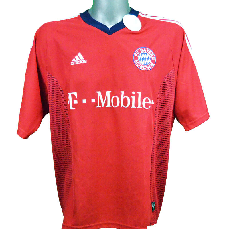 Maillot domicile Bayern Munich 2002/2003 Ballack