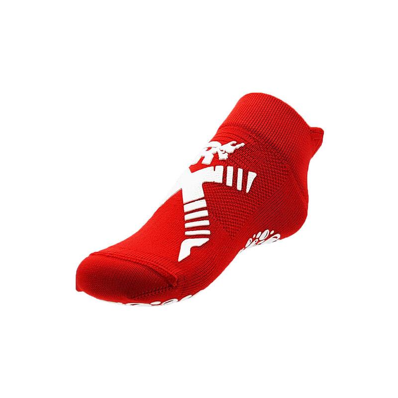 chaussettes de natation pour enfants piscine rouge blanches