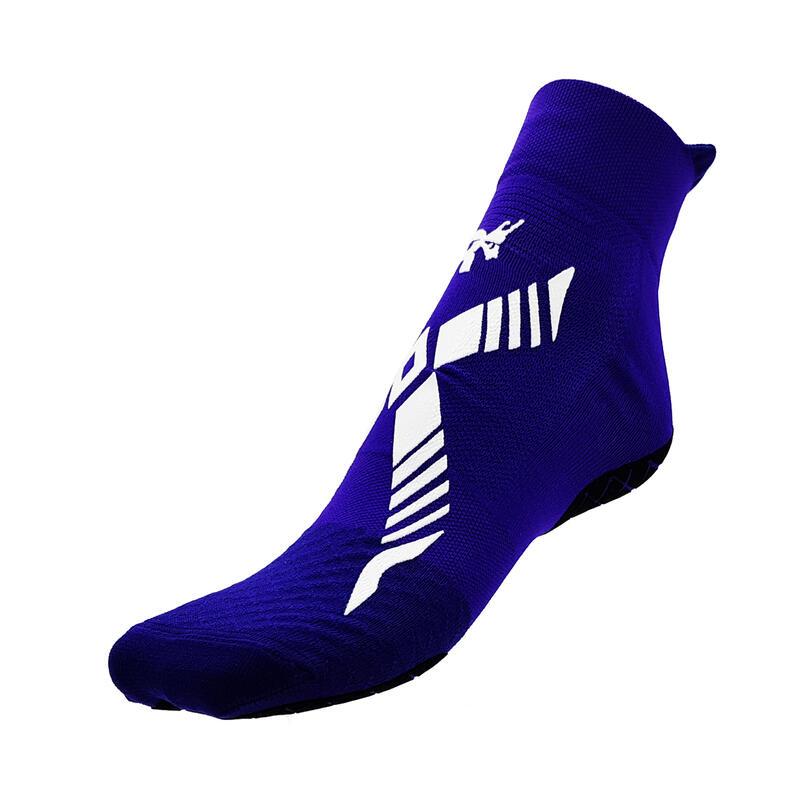 Chaussettes de natation classiques pour adultes piscine violettes blanches