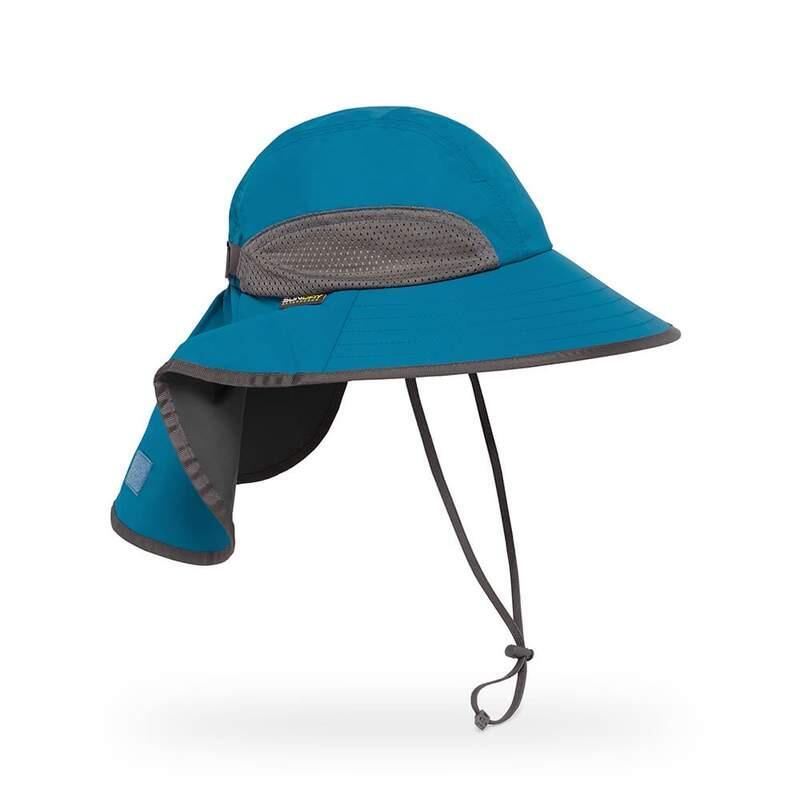 UPF50+ Adventure Hat Blue Moon/Charcoal L