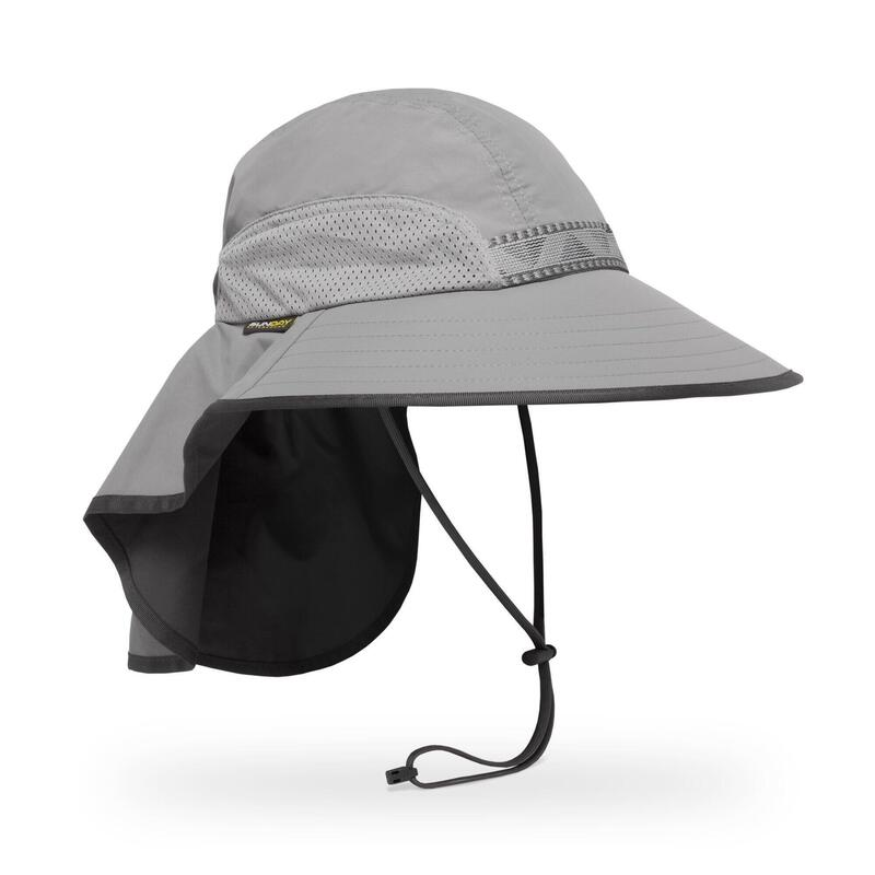 UPF50+防曬帽Adventure Hat Quarry L