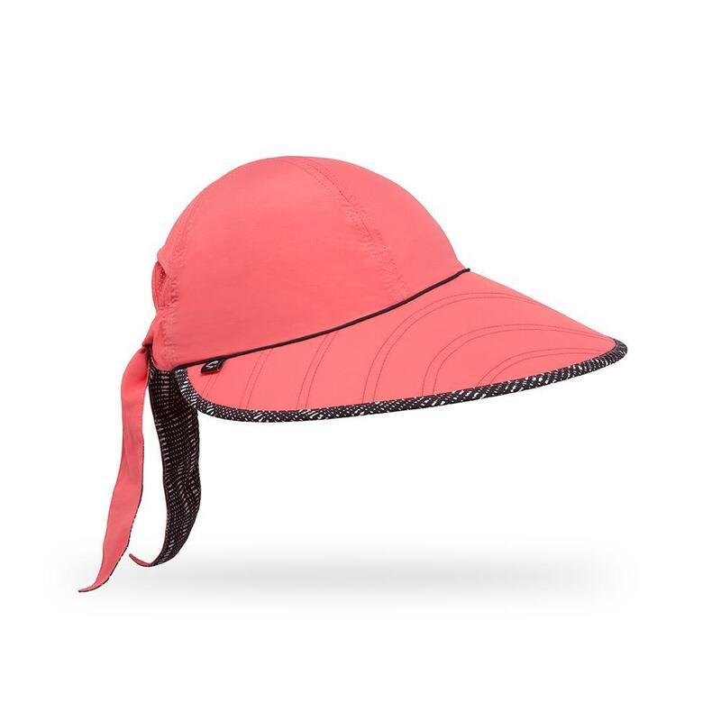 UPF50+ Sun Seeker Hat (Cap) Coral