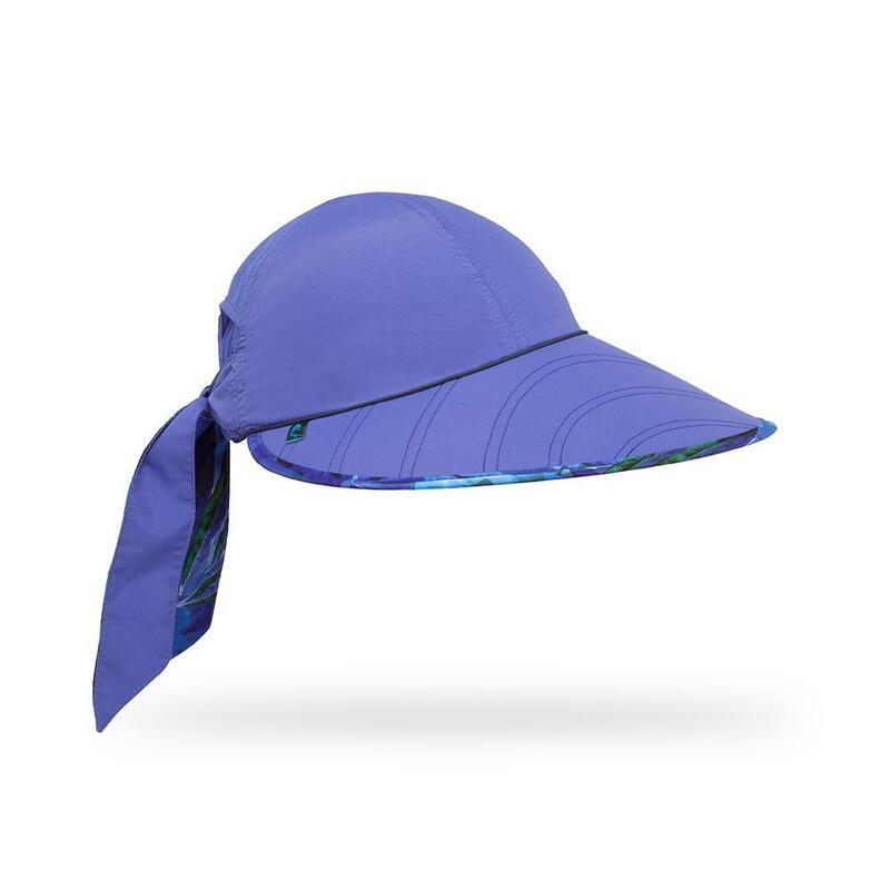 UPF50+ Sun Seeker Hat (Cap) Purple Larkspur
