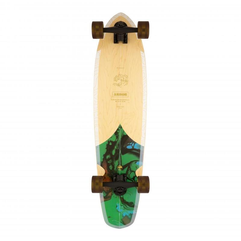 """Longboard Arbor Mission Groundswell Multi 35"""""""