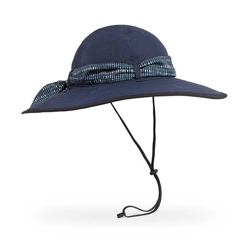 UPF50+防曬帽Waterside Hat Captain's Navy