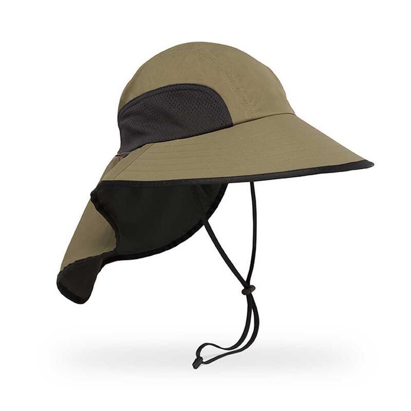 UPF50+ Bug Free Adventure Hat Dark Khaki S/M