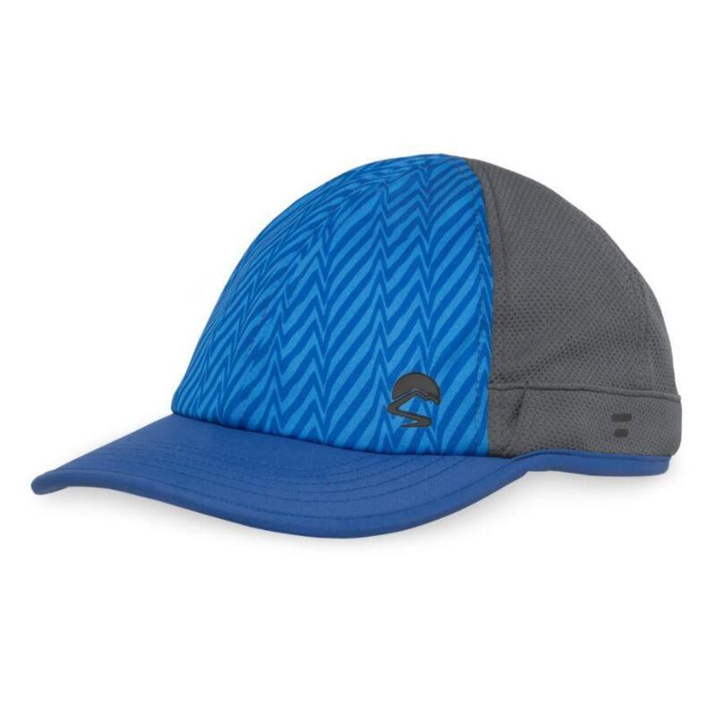 UPF50+ UV Shield Cool Cap Tonal Blue Electric Stripe