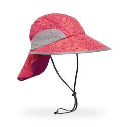 UPF50+ Sport Hat Coral Kaleidoscope M