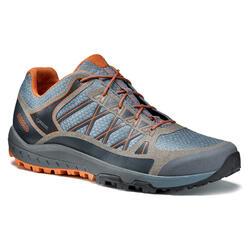 Scarpe trekking uomo GRID Gore-Tex Vibram azzurre