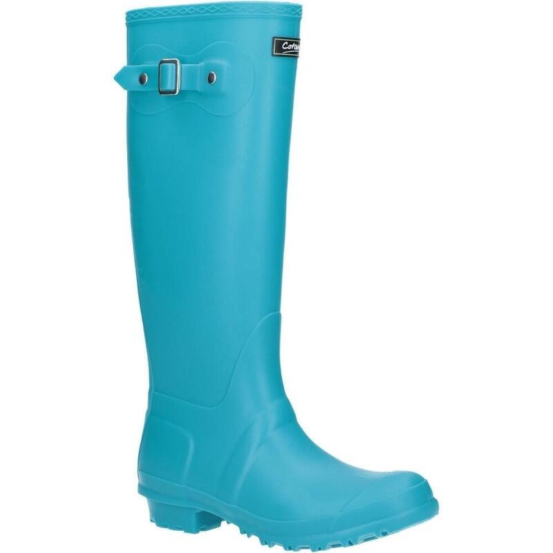 Sandringham BuckleUp Womens Wellington Boots (Turquoise)