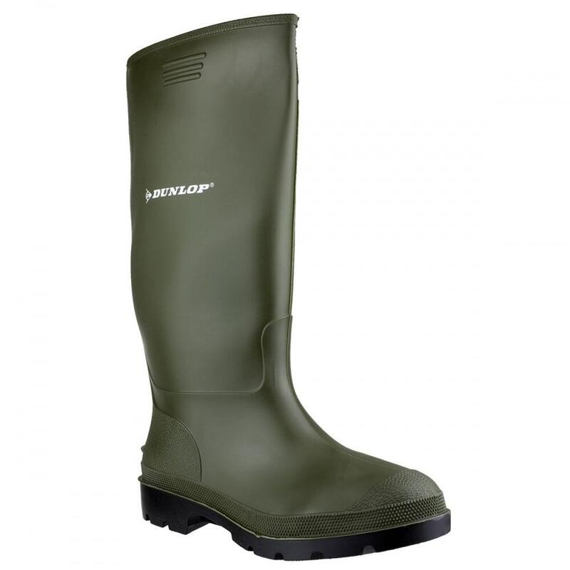 Pricemastor PVC Welly / Womens Boots (Green)