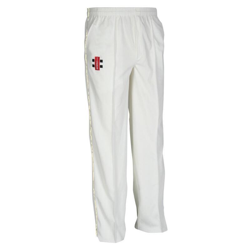 Children/Kids Matrix Cricket Trousers (Pack of 2) (Ivory)