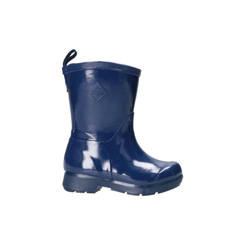 Childrens/Kids Bergen Mid Kids Lightweight Rain Boots (Navy)