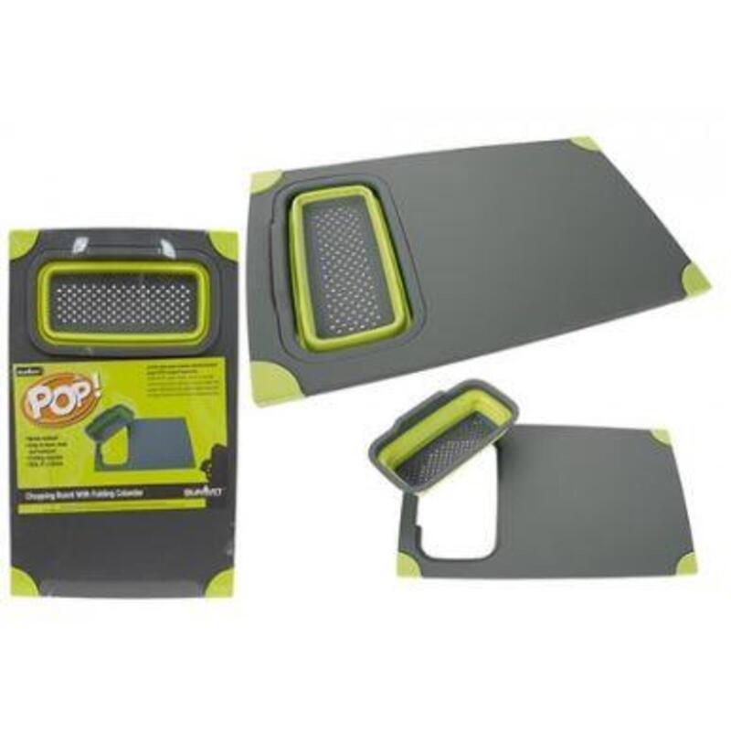 Summit Chopping Board - Non-Slip Safety - Green