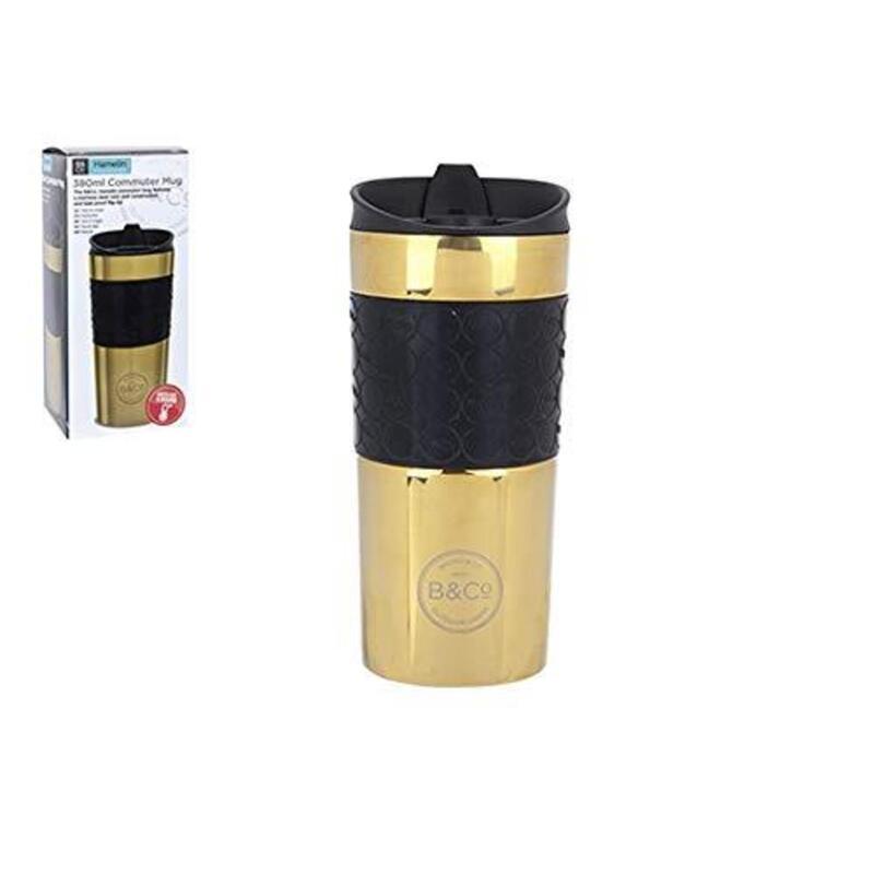 Summit Gold B&Co Hamelin Reusable Leak Proof Glossy Thermal Mug 380ml