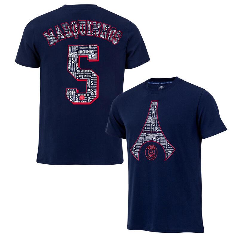 T-shirt MARQUINHOS PSG - Collection officielle PARIS SAINT GERMAIN